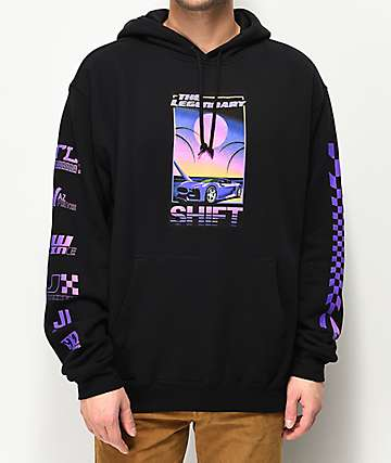 Vitriol Legendary Shift Black Hoodie