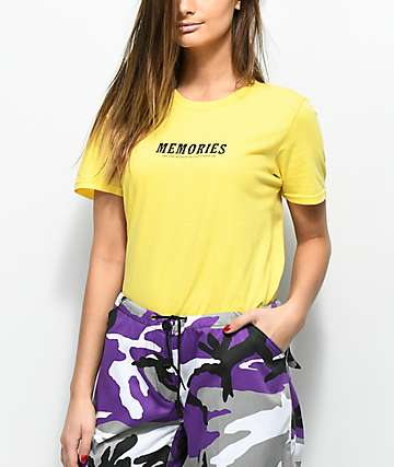 Vitriol Memories Yellow T-Shirt