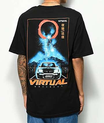 Vitriol VR Sport camiseta negra