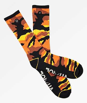 Vitriol x Rothco Orange Zing Crew Socks