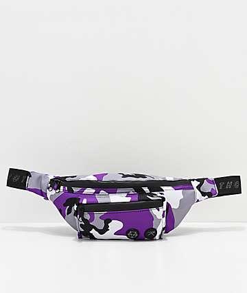 Vitriol x Rothco Purple Camo Fanny Pack