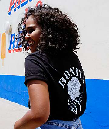 Viva La Bonita You Grow Girl Bonita camiseta negra