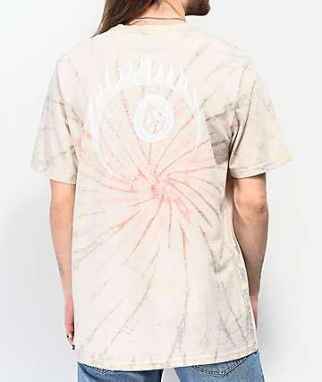 Volcom 8 Ball Peace Tie-Dye T-Shirt