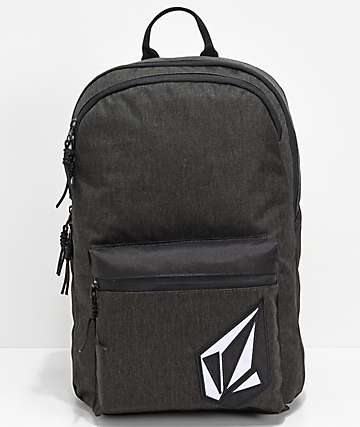 Volcom Academy Black Backpack