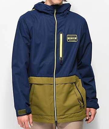 Volcom Analyzer Moss 10K chaqueta de snowboard
