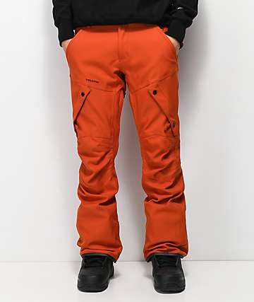 Volcom Articulated 15K pantalones snowboard en naranja