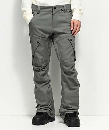 Volcom Articulated Charcoal 15K pantalones de snowboard en gris