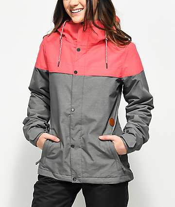 Volcom Bolt Bright Rose 10K Snowboard Jacket