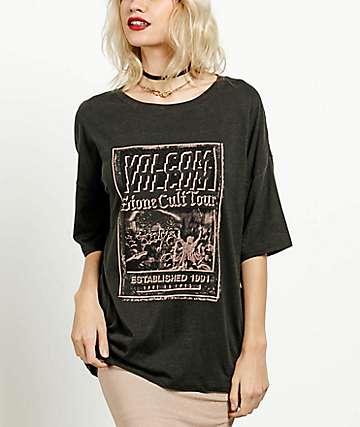 Volcom Boyfriend Me Vintage Black T-Shirt