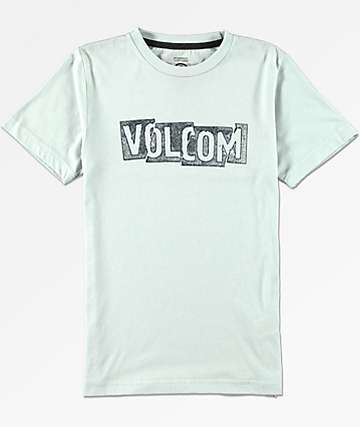 Volcom Boys Edge White T-Shirt