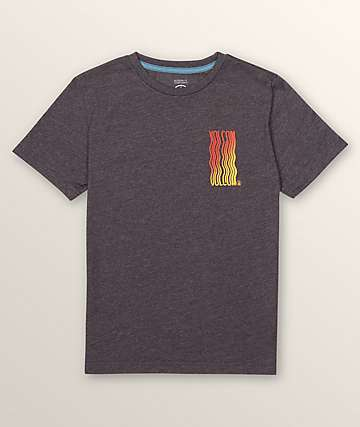 Volcom Boys Extend Black Heather T-Shirt