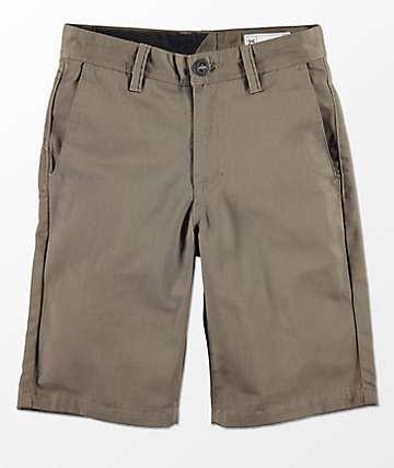 Volcom Boys Frickin Mushroom Chino Shorts