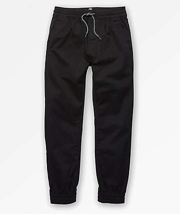 Volcom Boys Frickin Slim Black Jogger Pants