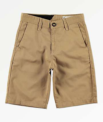 Volcom Boys Khaki Chino Shorts