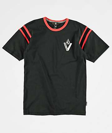 Volcom Boys Wagners Black T-Shirt