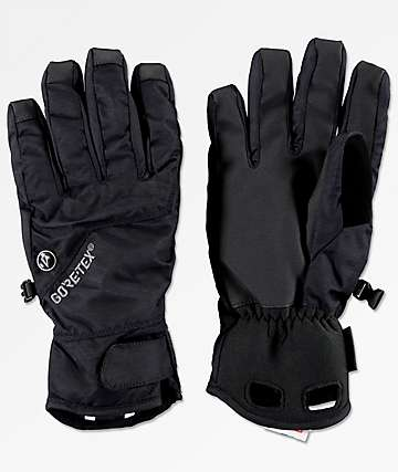 Volcom CP2 Black Gore-Tex Snowboard Gloves