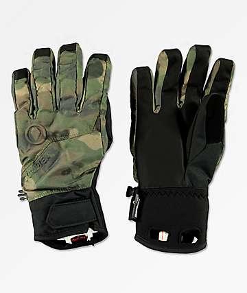 Volcom CP2 GORE-TEX® guantes snowboard de camuflaje