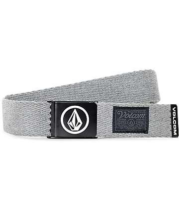 Volcom Circle cinturón tejido en gris