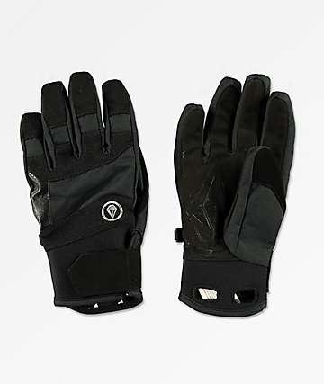 Volcom Crail guantes de snowboard en negro y blanco