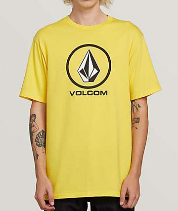 Volcom Crisp Stone True Yellow T-Shirt