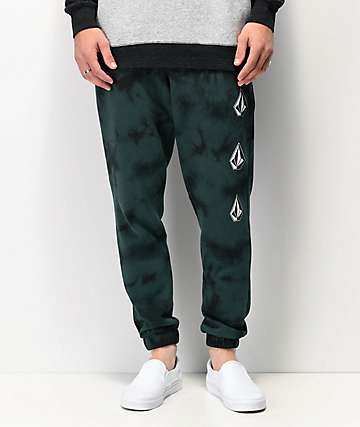 Volcom Deadly Stones Green Jogger Sweatpants