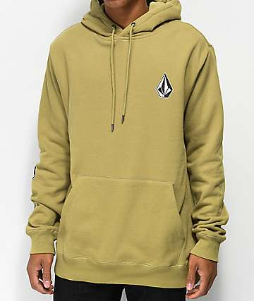 Volcom Deadly Stones Olive Hoodie