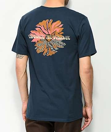 Volcom Delusion camiseta azul marino