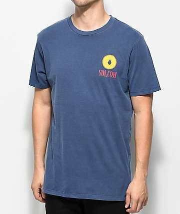 Volcom Dial Blue T-Shirt