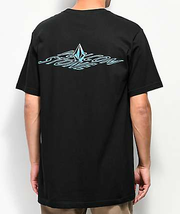 Volcom Dimensional Black T-Shirt