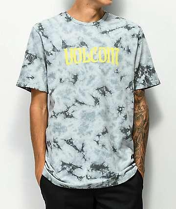 Volcom EU Black & White Tie Dye T-Shirt