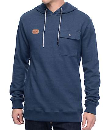 Volcom Elba Navy Pocket Hoodie