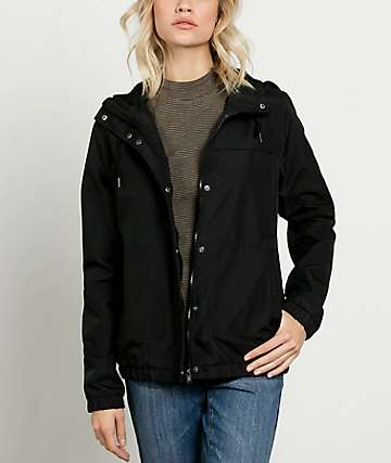 Volcom Enemy Stone Black Jacket