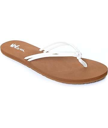 Volcom Forever And Ever White Sandals