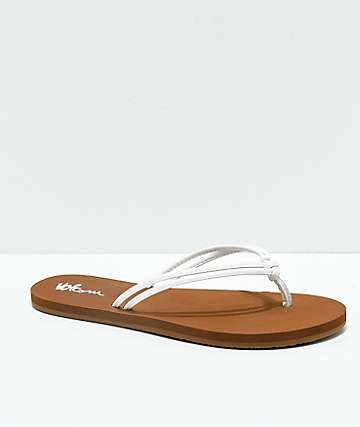Volcom Forever And Ever White Sandals