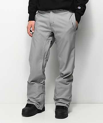 be20b7143 Volcom Freakin Chino Charcoal 10K Snowboard Pants