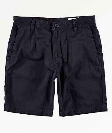 Volcom Frickin Drifter Navy Chino Shorts
