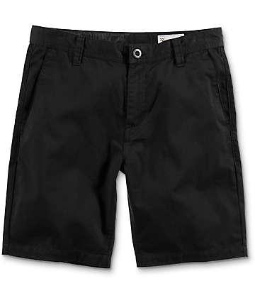 Volcom Frickin Drifter shorts chinos en negro