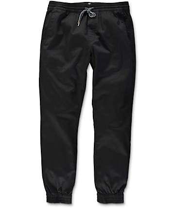 Volcom Frickin Slim Black Jogger Pants