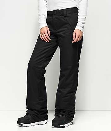 Volcom Frochickie 10K pantalones negros de snowboard
