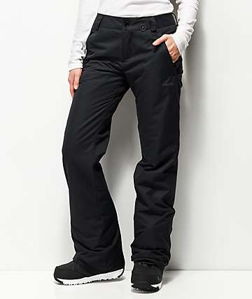 Volcom Frochickie Insulated Black 10K Snowboard Pants
