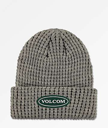 Volcom Hardcore In 94 Grey Beanie