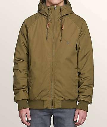 Volcom Hernan Green Bomber Jacket