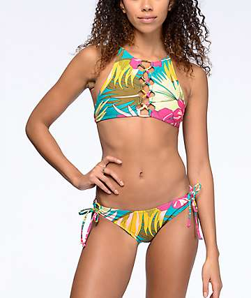 Volcom Hot Tropic Full Bikini Bottom