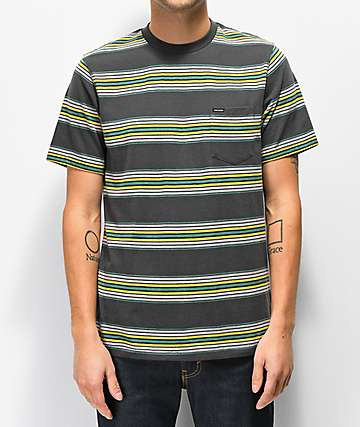 Volcom Idle Crew Ash Knit T-Shirt