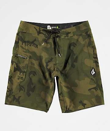 Volcom Lido Solid Mod Camo Board Shorts
