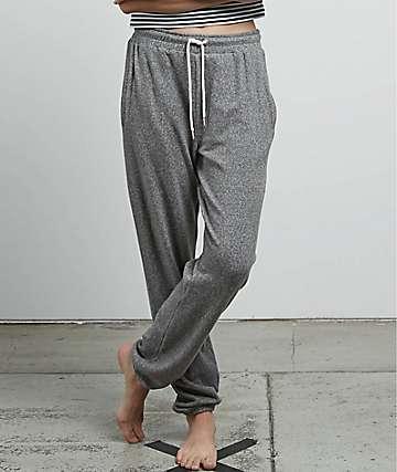 Volcom Lil Fleece Charcoal Sweatpants