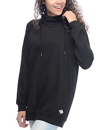 Volcom Lived In Long Black Hoodie