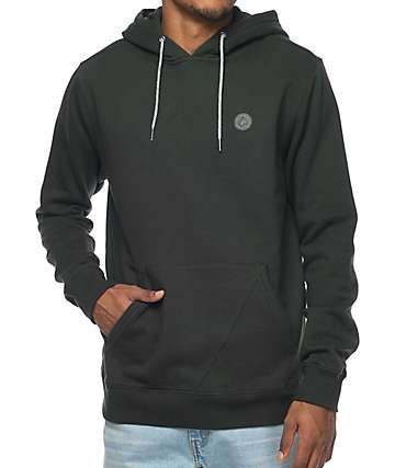 Volcom Lonely Stone Dark Green Fleece Hoodie