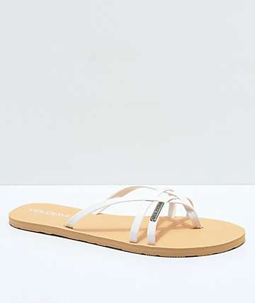 Volcom Lookout 2 sandalias blancas
