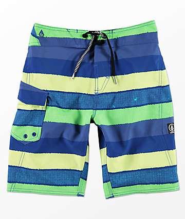 Volcom Magnetic Liney Mod shorts de baño para niños